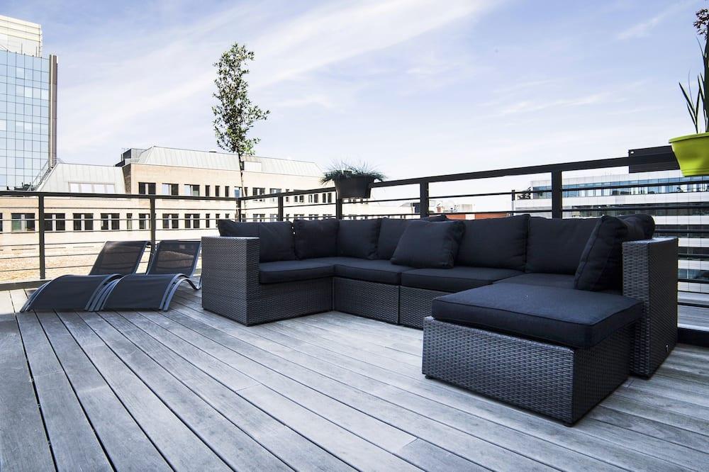 Superior-lejlighed - 2 soveværelser - terrasse - Terrasse/patio