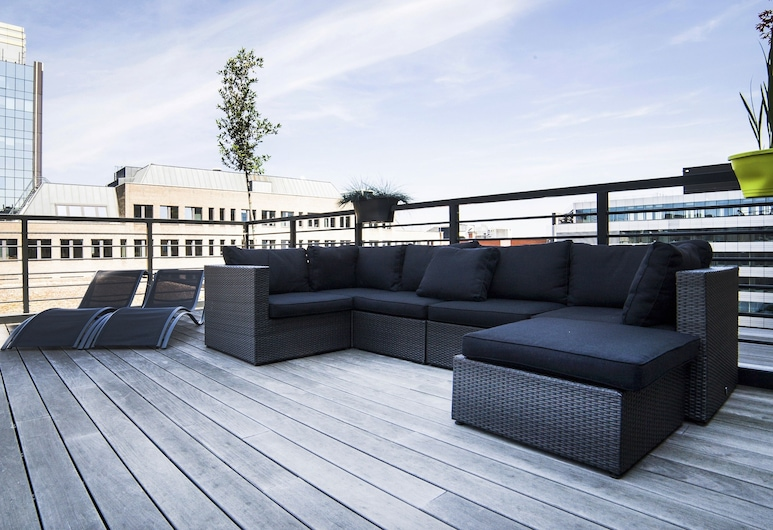 Smartflats Design - L42, Brussels, Superior Apartment, 2 Bedrooms, Terrace, Terrace/Patio
