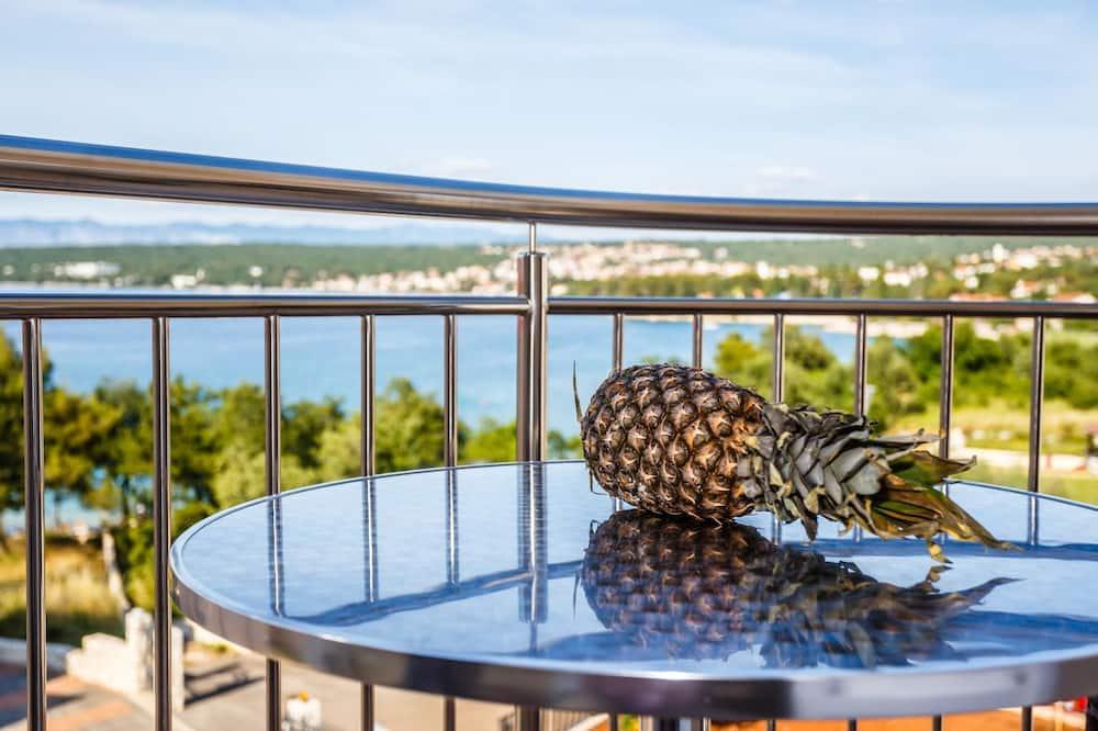 Apartamento, 1 Quarto, Varanda, Vista Mar - Varanda