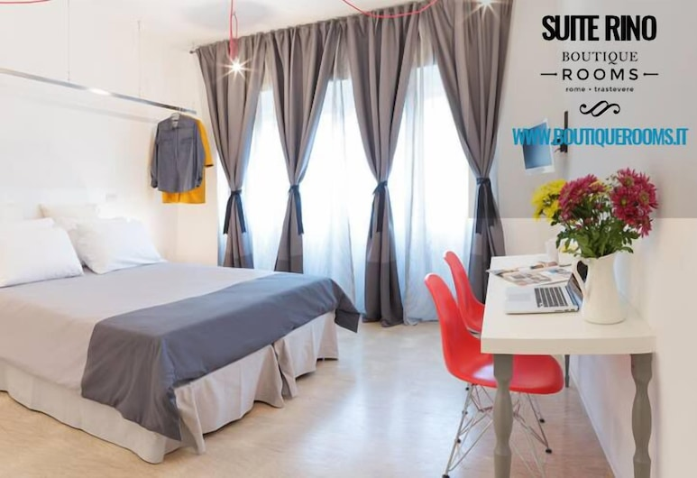 Boutique Rooms - Trastevere, Roma, Svečių kambarys