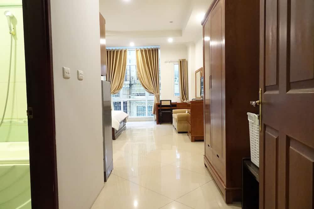 Apartament typu Deluxe, aneks kuchenny, widok na miasto - Pokój