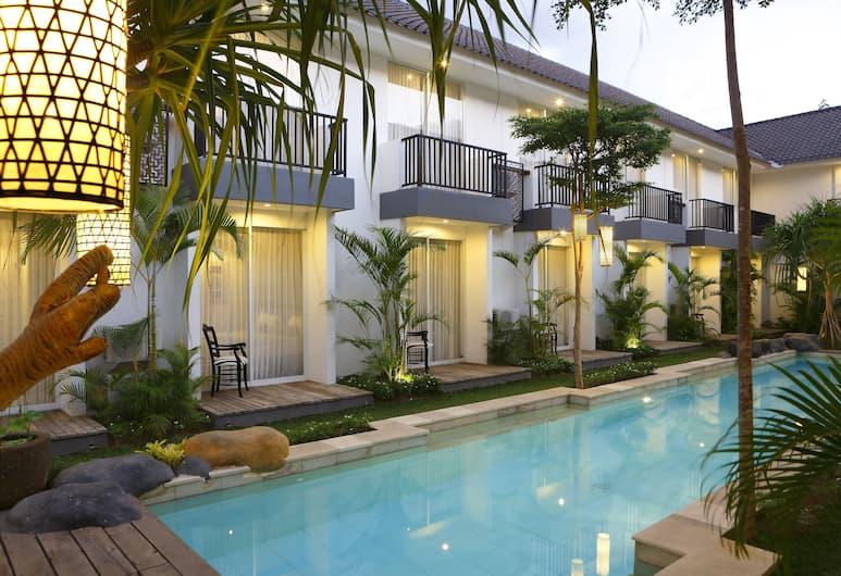 7 仙女精品酒店, 水明漾, 花園