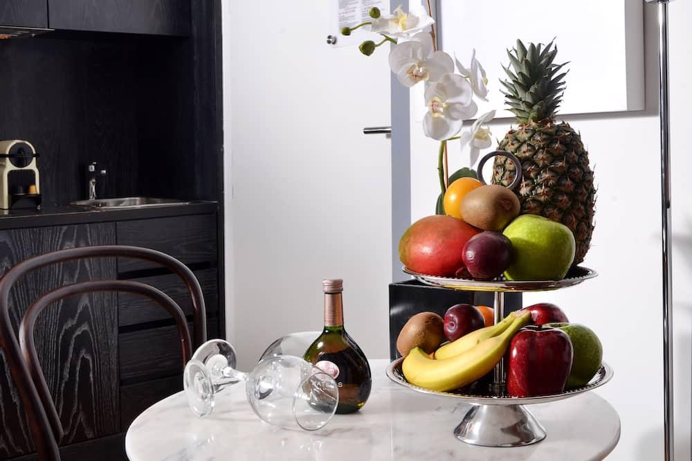 Dobbeltrom – superior - Bespisning på rommet