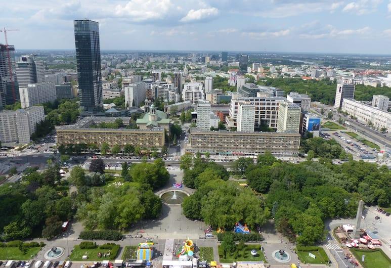 Hosapartments City Center, Varšava, Výhľad zo zariadenia