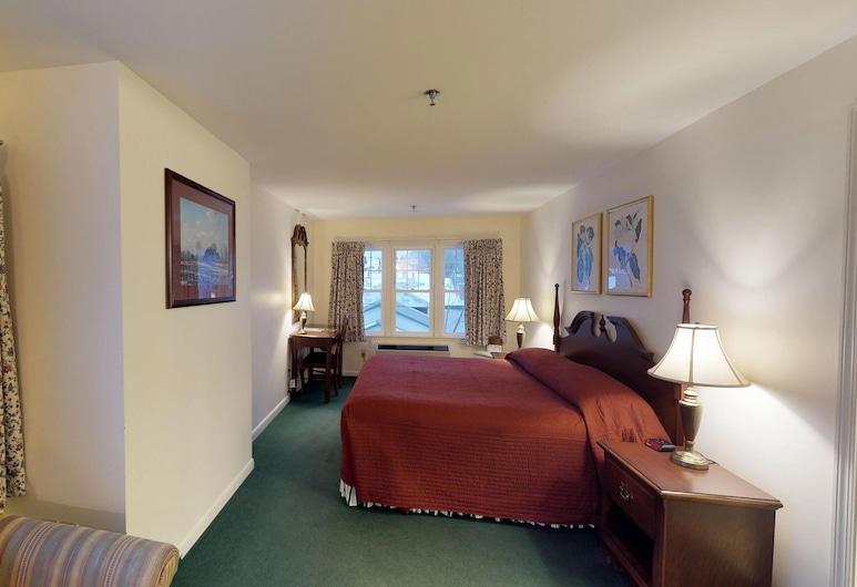 Quimby House Inn & Spa, Bar Harbor, Soba, 1 king size krevet, Soba za goste