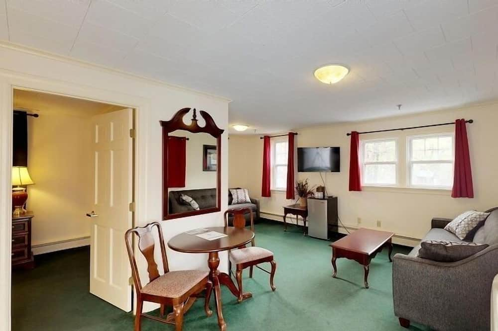 106 King Suite No Pets  - Living Room