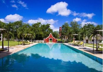 Foto van Hotel Hacienda Ticum in Tixkokob