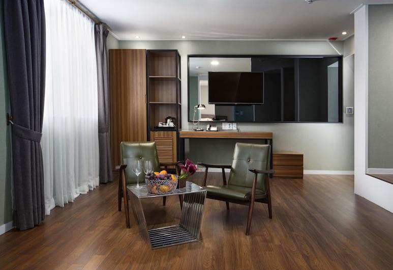 CINEMA HOUSE HOTEL IN BUSAN, Busan, Premium Suite Twin, Hosťovská izba