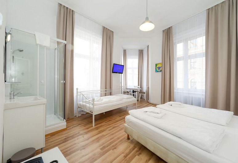 Time Out City Hotel Vienna, Βιέννη, Comfort Τρίκλινο Δωμάτιο (Private Shower, Shared Toilet), Δωμάτιο επισκεπτών