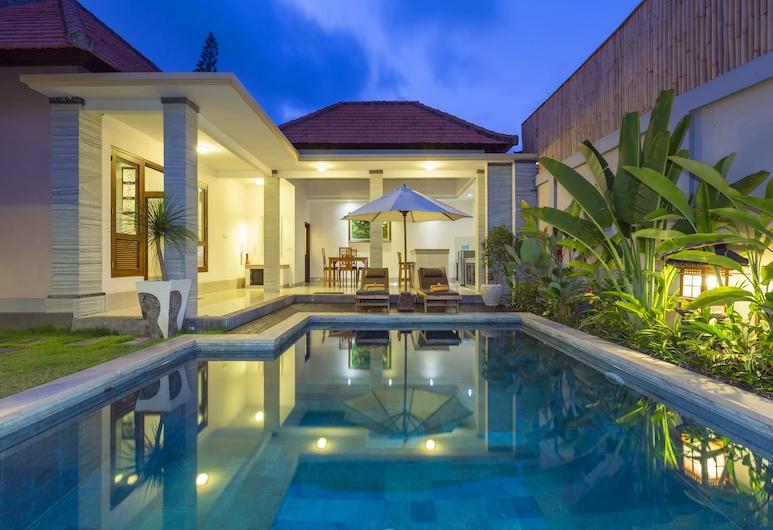 Kubal Villa & Restaurant, Seminyak, Villa, 1 slaapkamer, privézwembad, Kamer