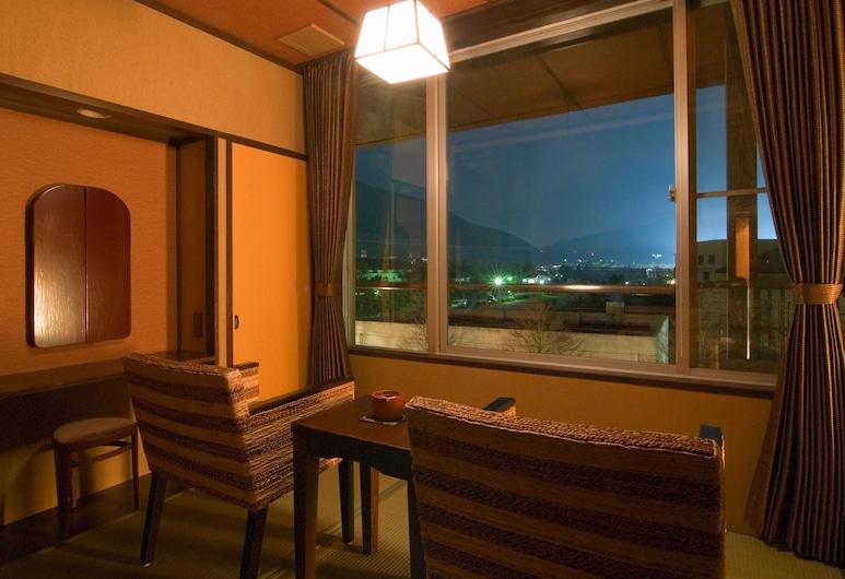 Mount View Hakone, Hakone, Chambre Deluxe avec lits jumeaux (Japanese Western Style), Chambre