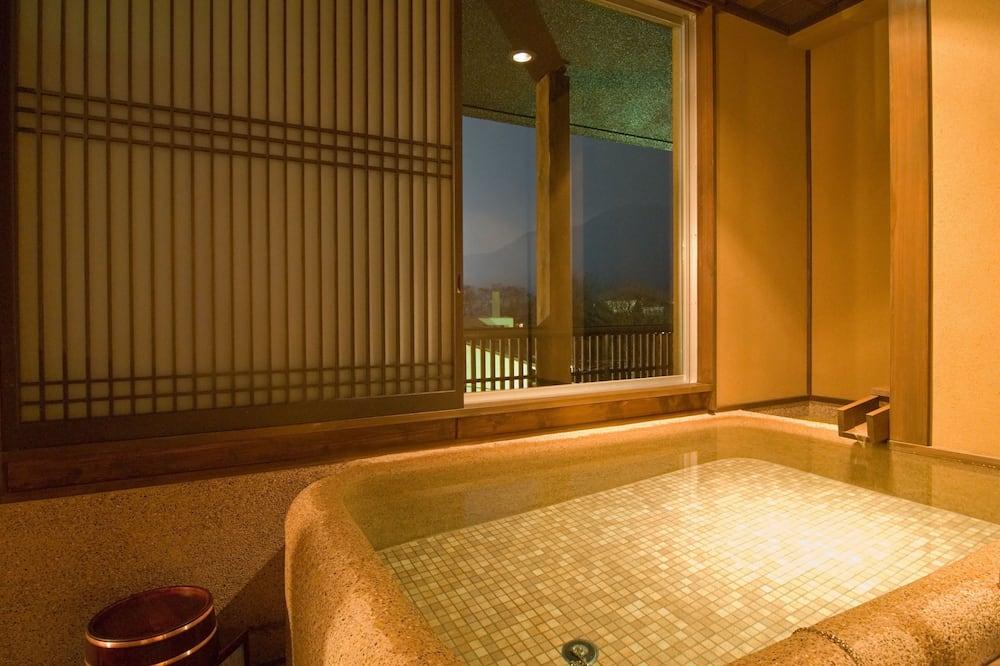 Chambre Deluxe avec lits jumeaux (Japanese Western Style) - Baignoire profonde