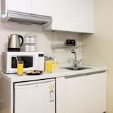 Virtuvėlė viešbučio kambaryje