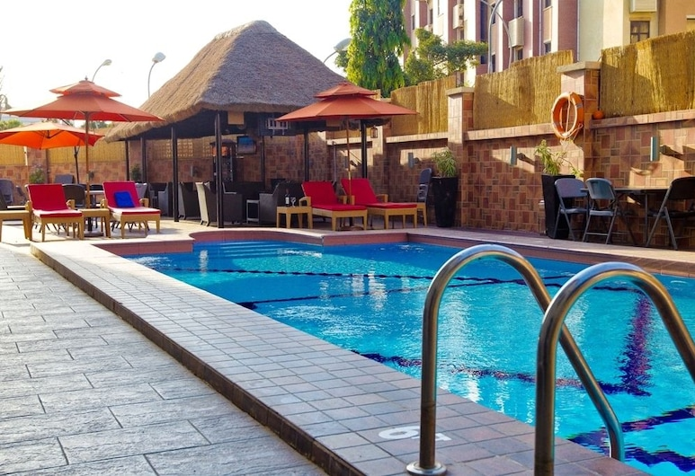 Bolton White Hotels and Apartments, Abuja, Outdoor Pool
