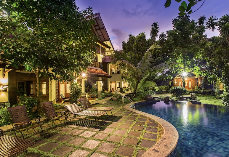 Duta Garden Boutique Villa, Džokjakarta, Lauko baseinas