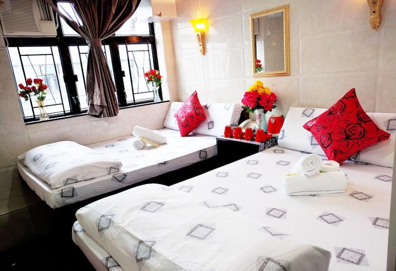 香港經濟型青年旅館, 九龍, 豪華雙人房, 2 張單人床, 客房