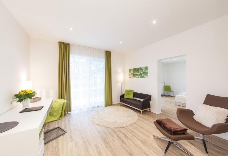 Novum LikeApart Hotel Fürth, Fuerth, Apartamento superior, Habitación
