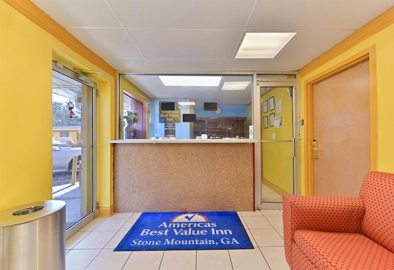 Americas Best Value Inn Stone Mountain Atlanta E, Stone Mountain, Lobby