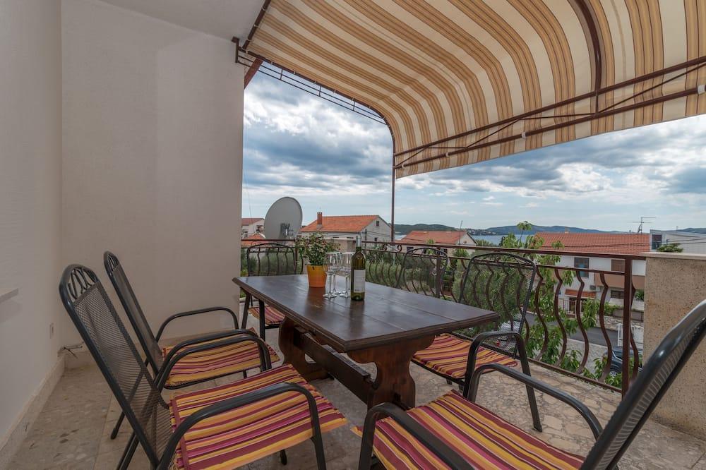 Apartment, 2Schlafzimmer, Balkon, Meerblick - Balkon
