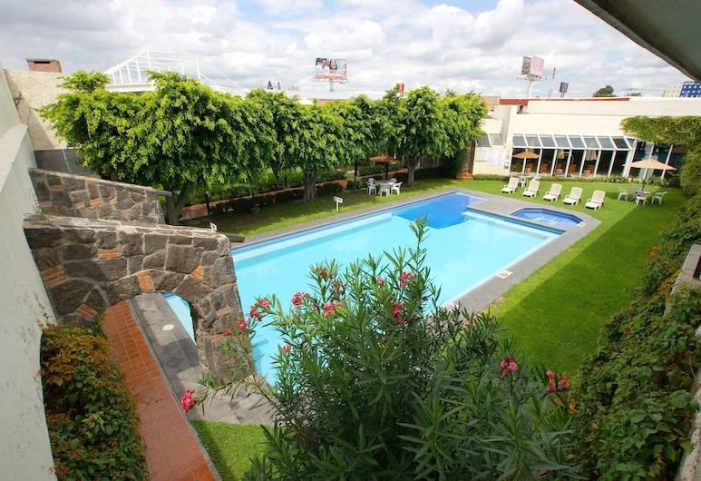 Hotel Real de Minas San Luis Potosi, San Luis Potosi, Açık Yüzme Havuzu