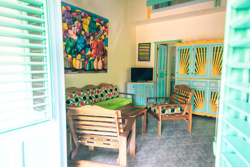 Külaliskorter 2 magamistoaga - Lõõgastumisala