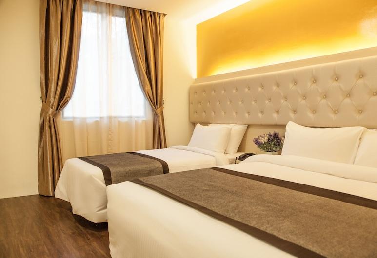 Sandpiper Hotel, Kvala Lumpūras, Mansarda šeimai, 2 didelės dvigulės lovos, Nerūkantiesiems, vaizdas į miestą (with Window), Svečių kambarys