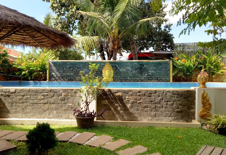 The Cashew Nut Guesthouse, Siemreabas, Lauko baseinas