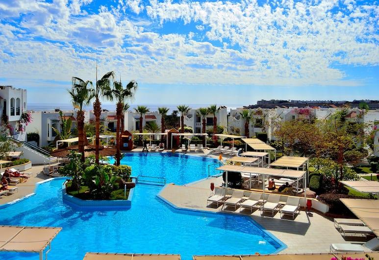 Solymar Naama Bay, Sharm el Sheikh, Standard - kahden hengen huone, Näköala uima-altaalle, Vierashuone