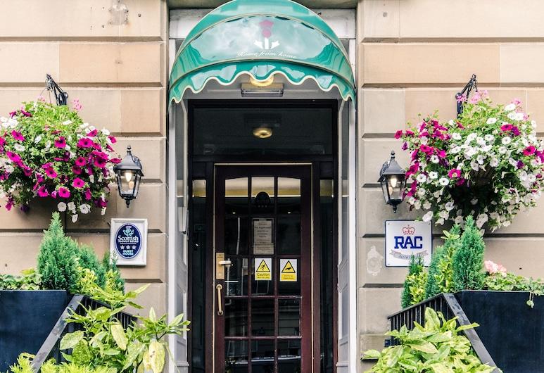 Argyll Guest House, Glasgow, Įėjimas į viešbutį