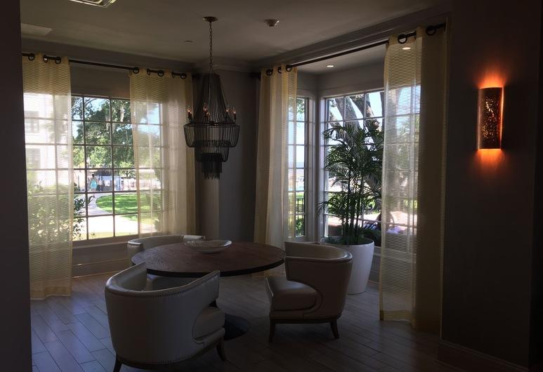 White House Hotel, Biloxi, Καθιστικό στο λόμπι