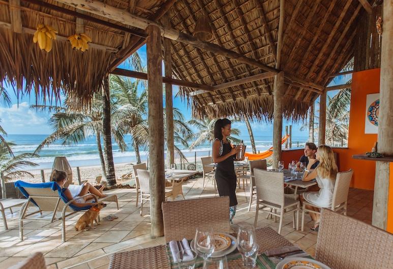 Pousada Capitù, Mata de São Joao, Restaurante al aire libre