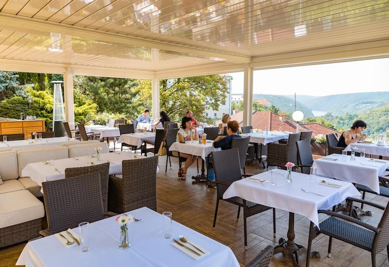 Hotel Katerina, Znojmo, Vakarienės lauke