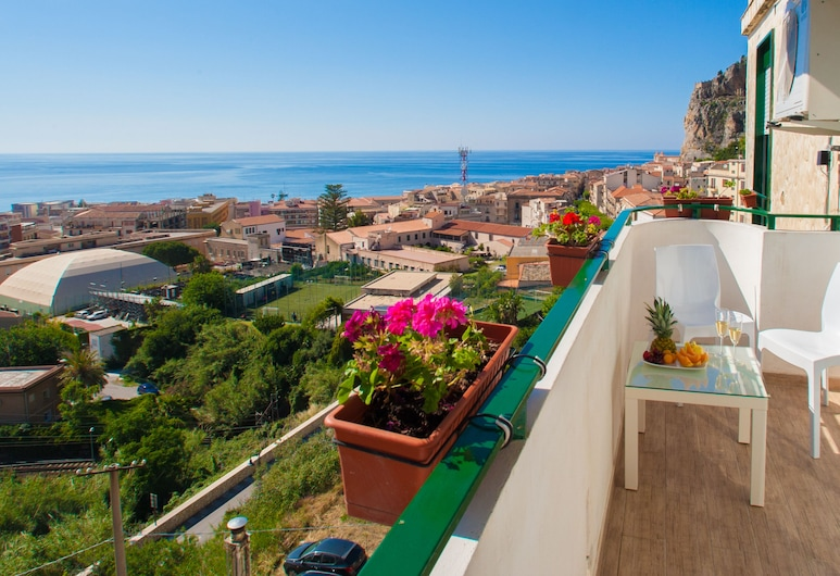 B&B Ma&Mi For You, Cefalù, Dobbeltrom – superior, Balkong