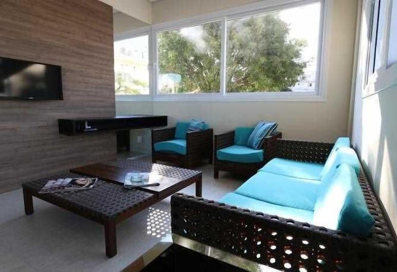 Hotel Ville House Premium, Canoas, Ruang Istirahat di Lobi