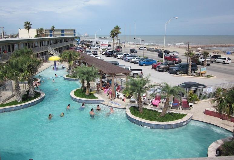 Gaido's Seaside Inn, Galveston, Standard Room, Ocean View (2nd Floor), Pemandangan Bilik Tamu