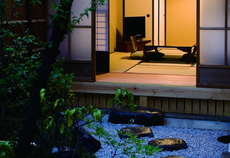 Kyoto Machiya SHOUAN, Kyoto, Traditional Room (1F, 3 Guests), View from room