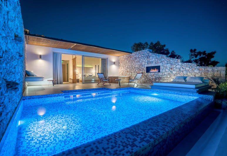 Emerald Villas & Suites, Ζάκυνθος, Honeymoon Σουίτα, Εξωτερική πισίνα