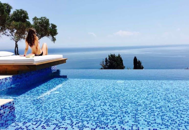 Emerald Villas & Suites, Zante, Suite luna di miele, Piscina a sfioro