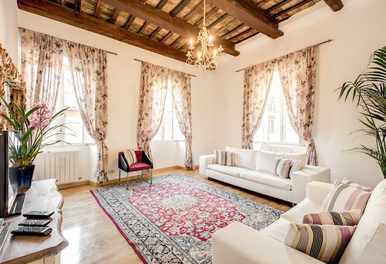 My Magic Rome - Piazza di Spagna, Rom, Lejlighed - 3 soveværelser (Luxury Dream 3), Stue