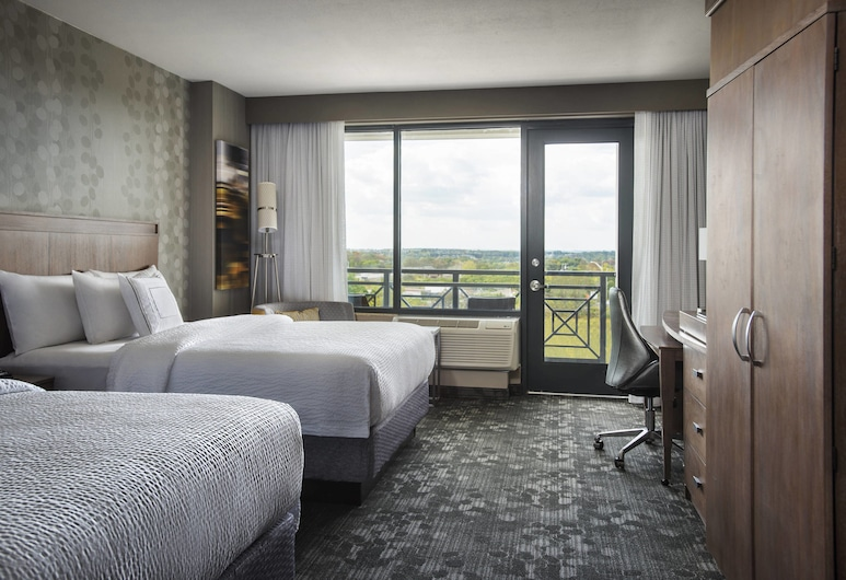 Courtyard by Marriott Philadelphia Lansdale, Lansdale, Kambarys, 2 didelės dvigulės lovos, Nerūkantiesiems, Svečių kambarys