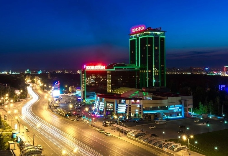 Korston Tower, Kazan, Hotel Front – Evening/Night