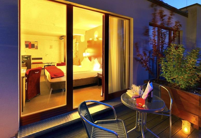 Apartmenthotel Quartier M, Leipzig, Quarto Duplo, Terraço/Pátio Interior