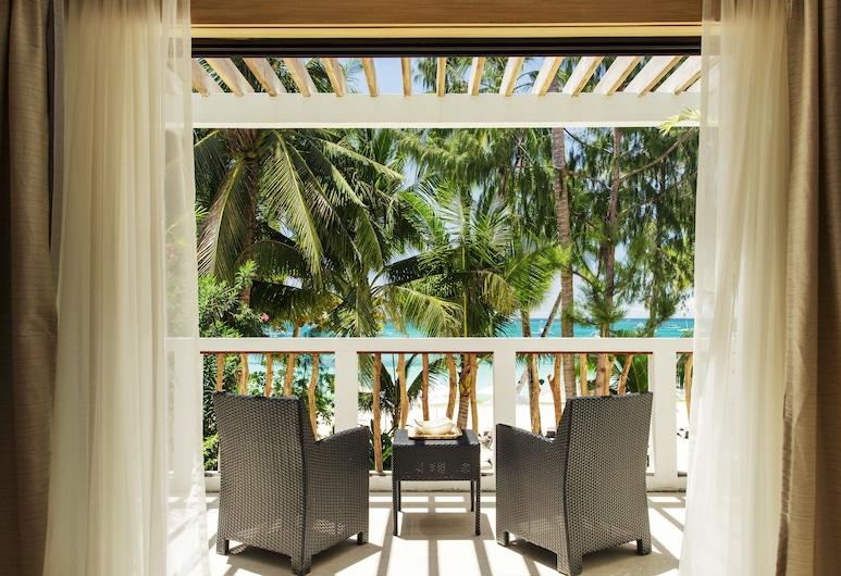 Villa Caemilla Beach Boutique Hotel, Boracay Island, Family Suite, Balcony