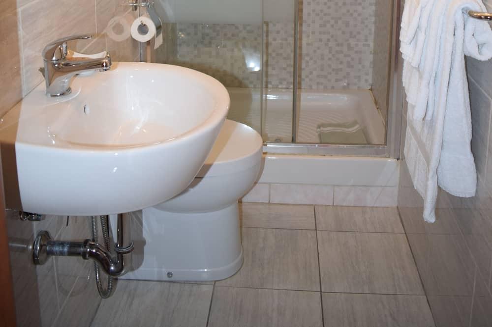 Chambre Double pour 1 personne, salle de bains privée - Salle de bain