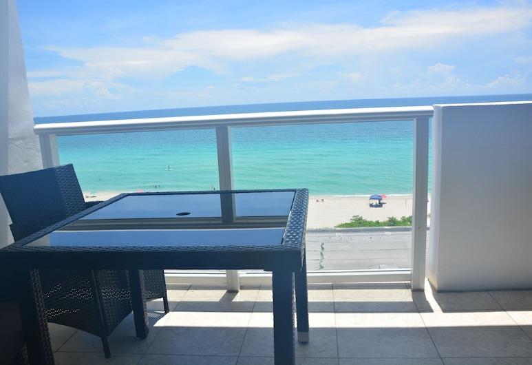 New Point Miami Beach Apartments, Miami Beach, Studio, Balkon, Meerblick, Balkon