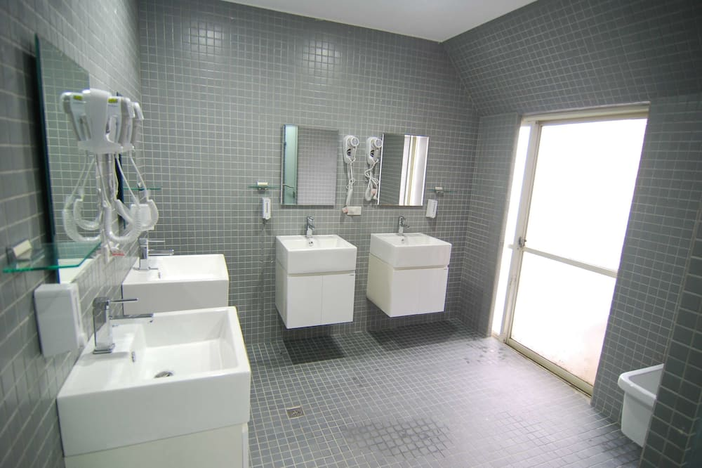 Economical and eco-friendly (No amenity, no room cleaning, sheet changing, and bed making)  - Bathroom