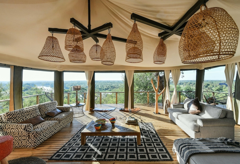 Simbavati Hilltop Lodge, Kruger National Park, Lounge