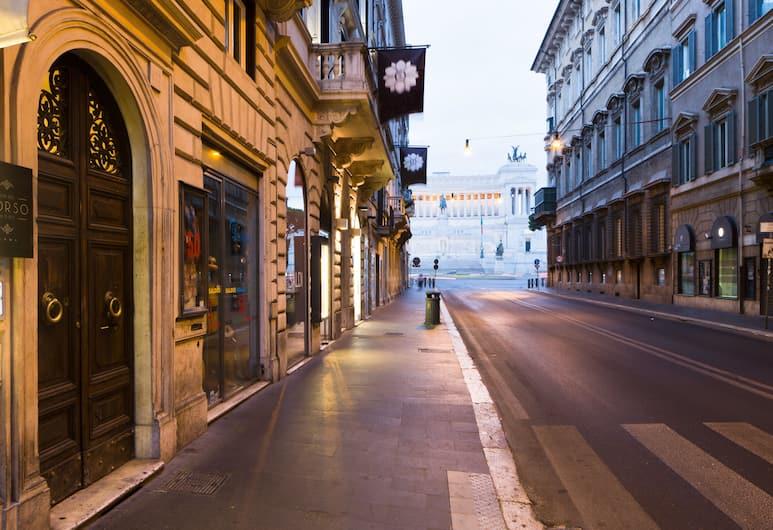 Via Del Corso Home, Rome, View from Hotel