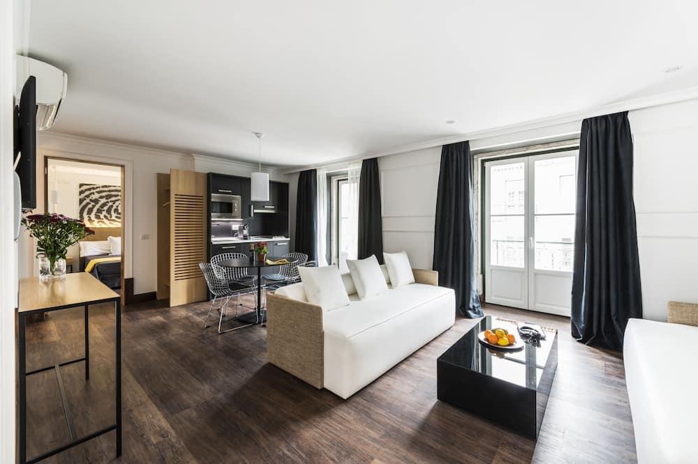Apartamento, 1 Quarto (3) - Área de Estar