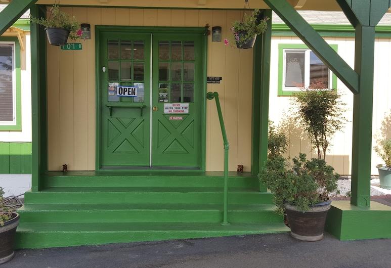 Safari Inn, Winston, Įėjimas į viešbutį